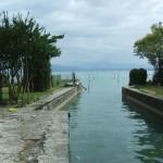 Seezugang für Boote der Villa